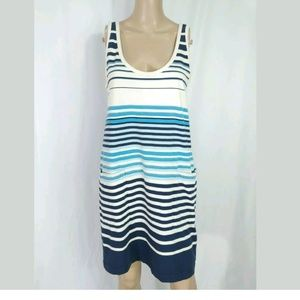 Marc by Marc Jacobs Striped Shift Dress M